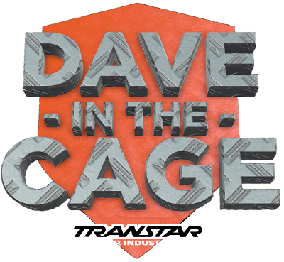 Dave in the Cage Logo
