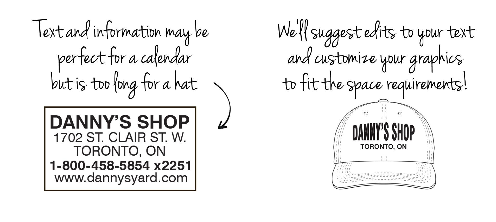 Printable vs non printable logos