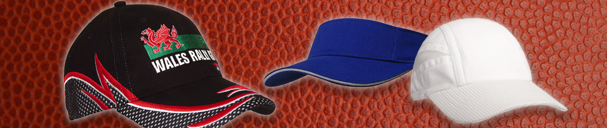 Visors & Performance Sports Embroidered Caps