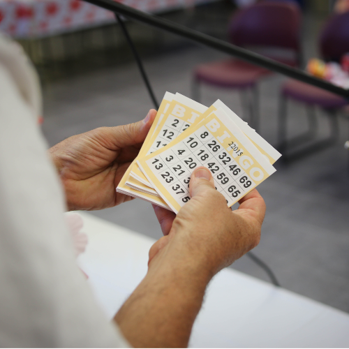 Stack of Bingo Cards