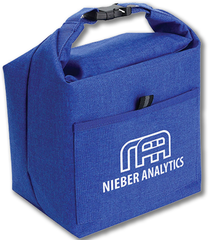 Heather Insulated Lunch Tote