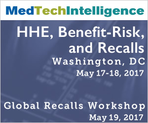 HHE, Benefit-Risk, and Recalls - May 17 – 18, 2017 - Washington, DC