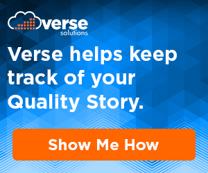 Verse Solutions - Verse helps keep track of your Quality Story