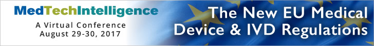 The New EU Medical Device and IVD Regulations: Requirements and Strategies for Efficient Compliance - A Virtual Conference - August 29-30, 2017