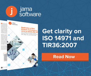 Jama Software - Get clarity on ISO 14971 and TIR36:2007