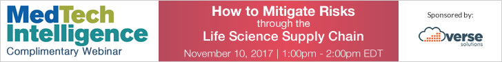 How to Mitigate Risks Through the Life Science Supply Chain - November 10, 2017 - 1:00pm EST