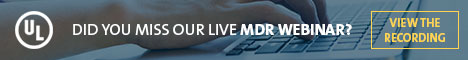 UL - Did You Miss Our Live MDR Webinar?