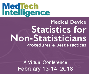 Medical Device Statistics for Non-Statisticians - February 13-14, 2018 - A Virtual Conference