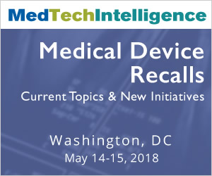 Medical Device Recalls - May 14-15, 2018 - Washington, DC