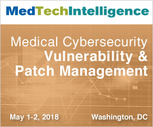 Medical Cybersecurity: Vulnerability & Patch Management - May 1 - 2, 2018 - Washington, DC