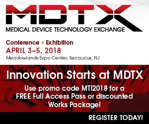 MDTX - April 3-5, 2018 - Seacaucus, NJ