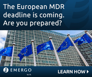 Emergo by UL - The European MDR deadlineis coming. Are you prepared?
