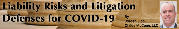 Liability Risks and Litigation Defenses for COVID-19 Tests