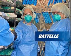 Battelle Gets FDA Emergency Use Authorization for N95 Respirator Decontamination System
