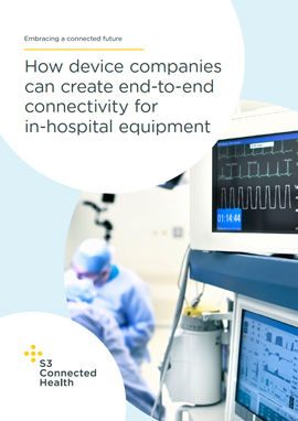 How medical device companies can create end-to-end connectivity for in-hospital equipment