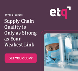EtQ - White Paper: Supply Chain Quality is Only as Strong as Your Weakest Link