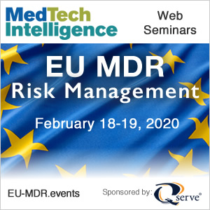 EU MDR Risk Management Web Series - February 18-19, 2020