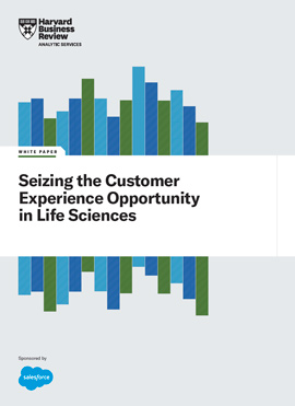 Seizing the Customer Experience Opportunity in Life Sciences