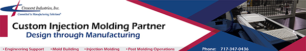 Crescent Industries - Custom Injection Molding Partner