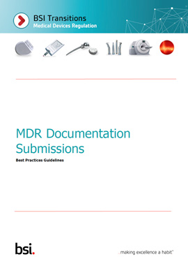 MDR Documentation Submissions: Best Practices Guidelines