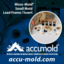 Accumold - Micro-Mold - Small Mold - Lead Frame/Insert