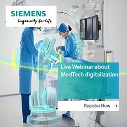 Siemens - Live Webinar about MedTech digitalization