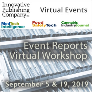 Event Reports Virtual Workshop - September 5 & 19, 2019