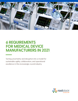 6 Requirements for Medical Device Manufacturers in 2021