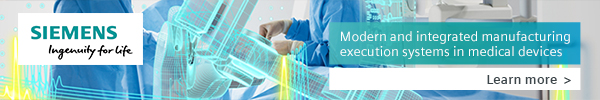 Siemens - Modern and integrated manufacturing execution in medical devices
