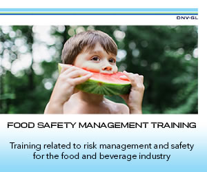 DNV-GL - Food Safety Management Training
