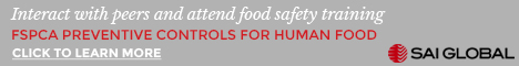 SAI Global - FSPCA preventative Controls for Human Food