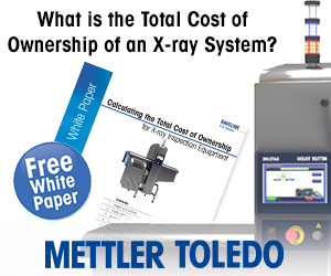 Mettler Toledo - What is the Total Cost of Ownership of an X-ray System?