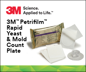 3M Petrifilm Rapid Yeast & Mold Count Plate