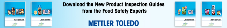 Mettler Toledo - Download the New Product Inspection Guides from the Foody Safety Experts
