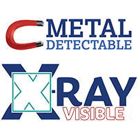 Metal Detectable - X-Ray Visible
