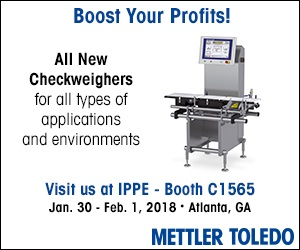 Mettler Toledo - Visit us at IPPE - Booth C 1565