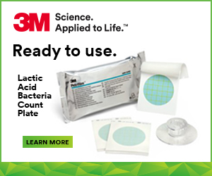 3M - Ready to use. Lactic Acid Bacteria Count Plate