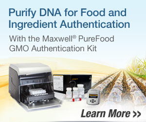 Promega - Purify DNA for Food and Ingredient Authentication