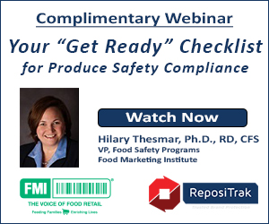 Repositrak - Complimentary Webinar - Your 'Get Ready' Checklist for Produce Safety Compliance
