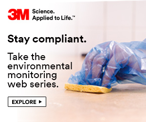 3M - Stay Compliant. Take the environmental monitoring web series.
