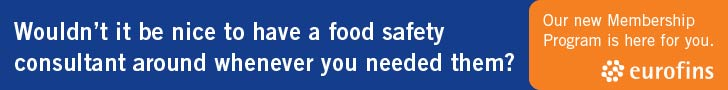 Eurofins - Wouldn't it be nice to have a food safety consultant around whenever you needed them?