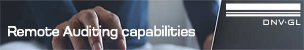 DNV GL - Remote Auditing capabilities