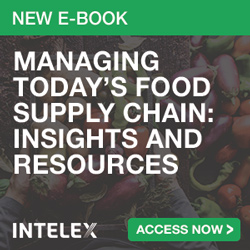 Intelex - New E-Book: Managing Today's Food Supply Chain: Insights and Resources