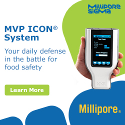 MilliporeSigma -  Your daily defense in the battle for food safety.