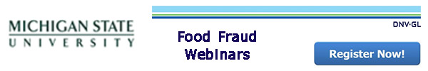 DNV-GL - Food Fraud Webinars