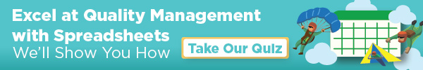 Rizepoint - Excel at Quality Management with Spreadsheets - We'll Show You How