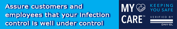DNV GL - Assure customers and employees that your infection control is well under control