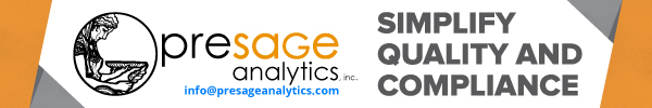 Presage Analytics - Simplify Quality and Compliance