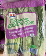 Dole Recalls Limited Amount of Organic Romaine Hearts