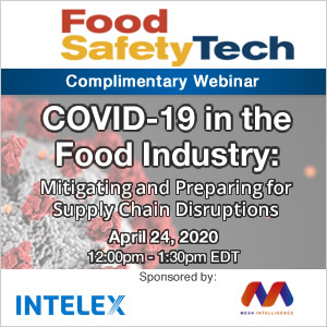COVID-19 in the Food Industry: Mitigating and Preparing for Supply Chain Disruptions